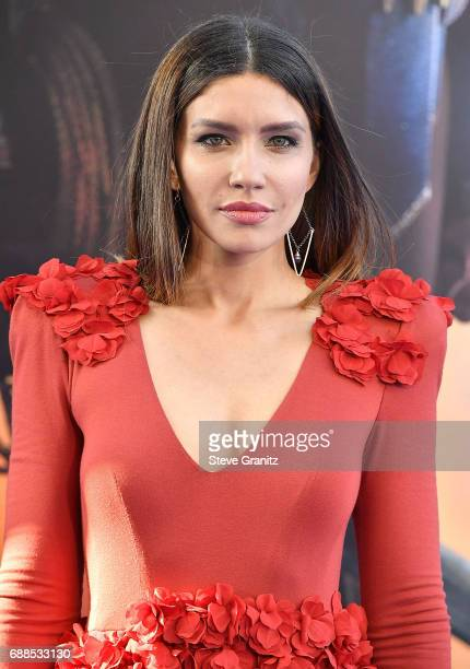 Juliana Harkavy arrives at the Premiere Of Warner Bros Pictures' 'Wonder Woman' at the Pantages Theatre on May 25 2017 in Hollywood California