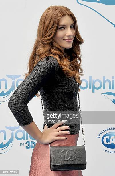 Juliana Harkavy arrives at the World Premiere of Dolphin Tale at the Village Theatre on September 17 2011 in Westwood California