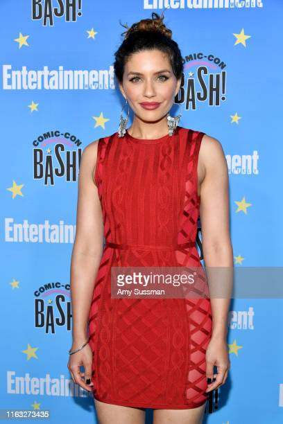 Juliana Harkavy attends Entertainment Weekly's ComicCon Bash held at FLOAT Hard Rock Hotel San Diego on July 20 2019 in San Diego California...