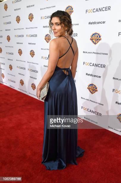 Juliana Harkavy attends the Barbara Berlanti Heroes Gala Benefitting FCancer at Warner Bros Studios on October 13 2018 in Burbank California