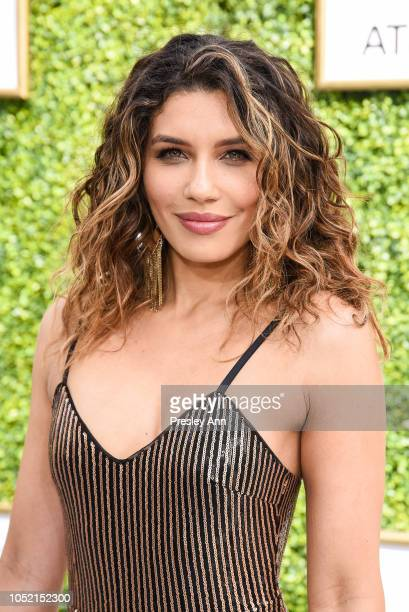 Juliana Harkavy attends The CW Network's Fall Launch Event Arrivals at Warner Bros Studios on October 14 2018 in Burbank California