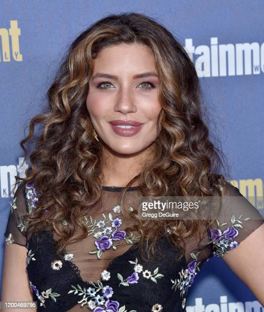 Juliana Harkavy attends the Entertainment Weekly PreSAG Celebration at Chateau Marmont on January 18 2020 in Los Angeles California