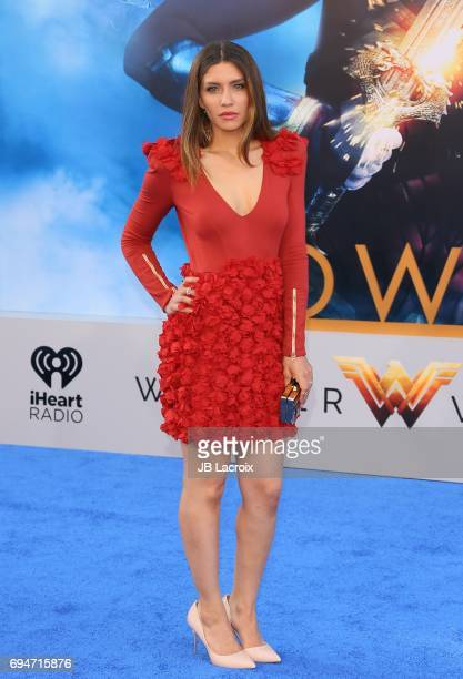 Juliana Harkavy attends the premiere of Warner Bros Pictures' 'Wonder Woman' at the Pantages Theatre on May 25 2017 in Hollywood California