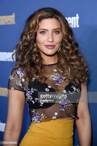 Juliana Harkavy is seen as Entertainment Weekly Celebrates Screen Actors Guild Award Nominees at Chateau Marmont on January 18 2020 in Los Angeles...