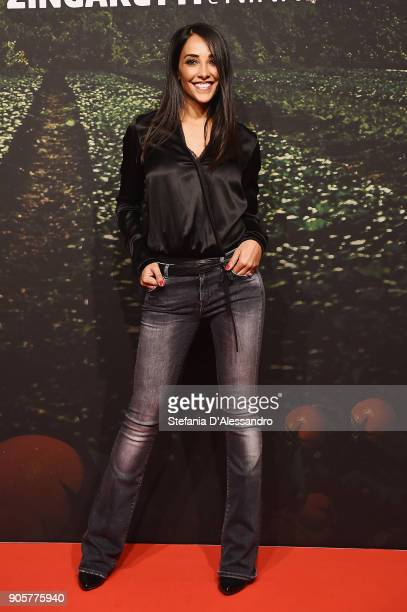 Juliana Moreira attends the 'Il Vegetale' photocall on January 16 2018 in Milan Italy