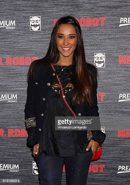 Juliana Moreira attends the 'Mr Robot' Tv Show Photocall on February 29 2016 in Milan Italy