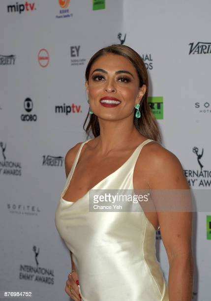 Juliana Paes attends 45th International Emmy Awards at New York Hilton on November 20 2017 in New York City
