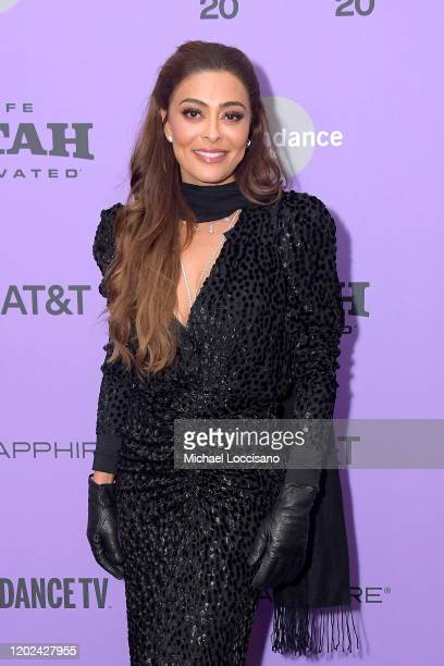 """Juliana Paes attends the 2020 Sundance Film Festival - """"Tesla"""" Premiere at Library Center Theater on January 27, 2020 in Park City, Utah."""