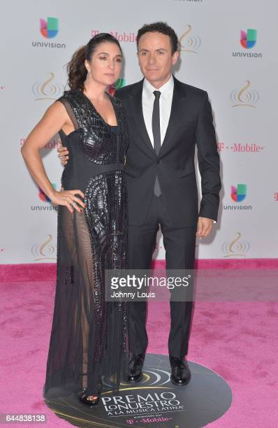 Juliana Posada and Fonseca attend Univision's 29th Edition of Premio Lo Nuestro A La Musica Latina at the American Airlines Arena on February 23 2017...