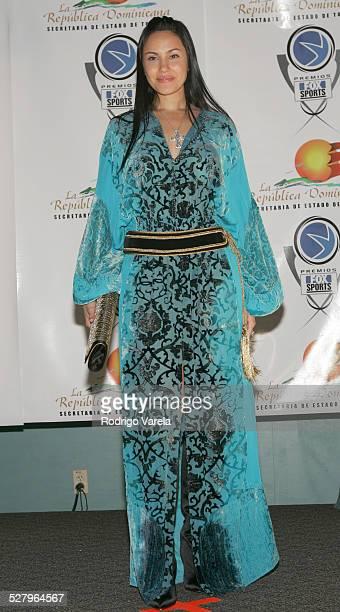 Juliana Ramirez during Premios Fox Sports 2004 Awards Press Room at Jackie Gleason Theater in Miami Beach Florida United States