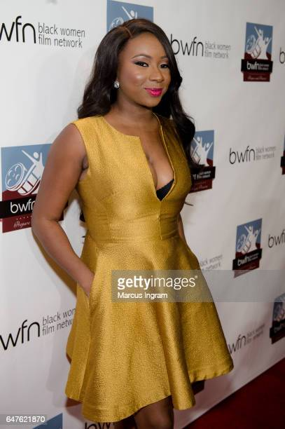Juliana Richards attends the 2017 Black Women Film Summit Untold Stories awards luncheon at Atlanta Marriott Marquis on March 3 2017 in Atlanta...