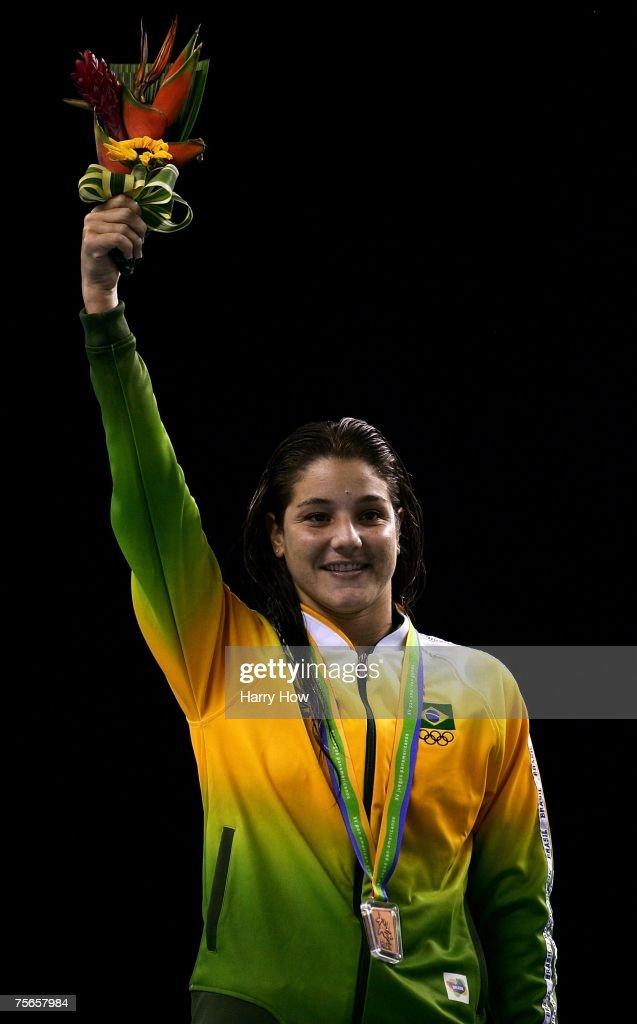 XV Pan American Games Day 12 - Diving - Women's 10m Platform : News Photo
