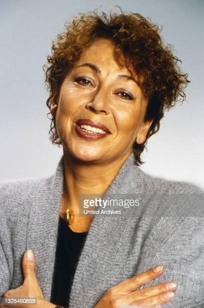 Juliane Bartel, deutsche Radio- und Fernsehmoderatorin, Deutschland um 1994.