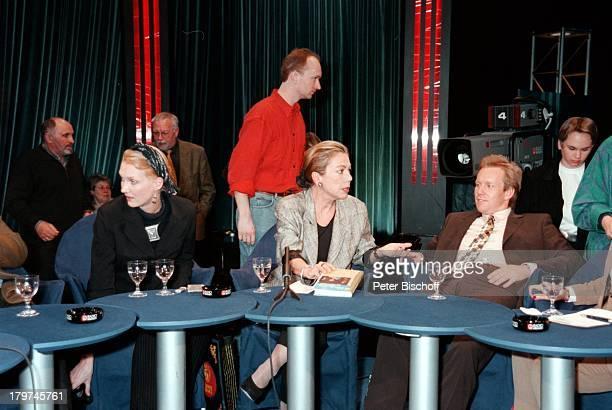 """Juliane Bartel mit Johannes B. Kerner und;Desire von Trotha - """"III nach 9"""";-Talkshow vom ,"""