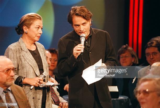 """Juliane Bartel und Giovanni di Lorenzo -;""""III nach 9""""-Talkshow vom ,"""