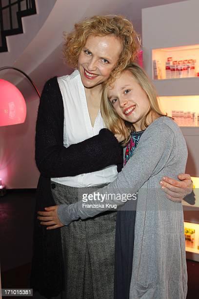 Juliane Köhler Und Ihre Tochter Fanny Beim Brigitte Fashion Event In Der Alten Kongresshalle In München