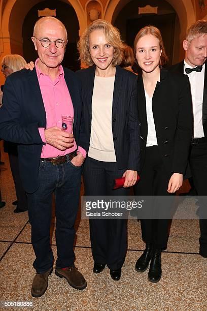 Juliane Koehler and her daughter Fanny Koehler during the Bavarian Film Award 2016 at Prinzregententheater on January 15 2016 in Munich Germany