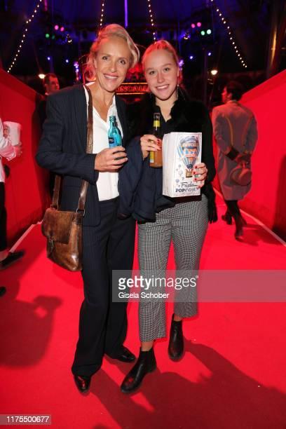 Juliane Koehler and her daughter Fanny Koehler during the premiere of Circus Roncalli's Storyteller Gestern Heute Morgen on October 12 2019 in Munich...