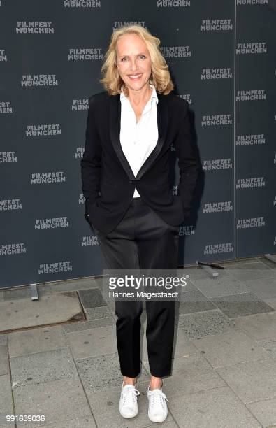 Juliane Koehler attends the premiere of the movie 'Safarie Match me if you can' as part of the Munich Film Festival 2018 at Filmtheater Sendlinger...