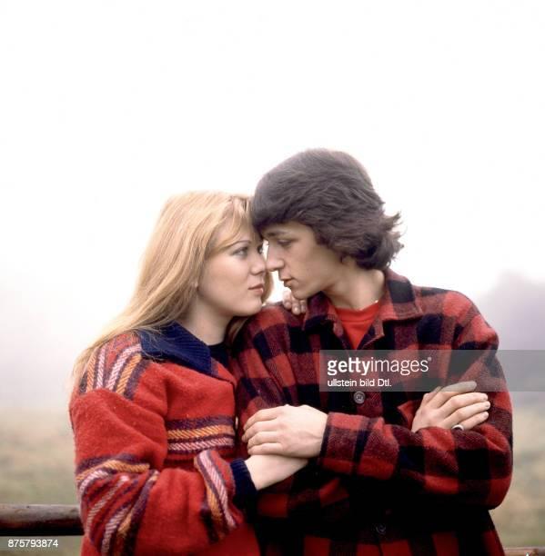 Juliane Werding mit Freund Tobi Pflug beim Fotoshooting in Bayern