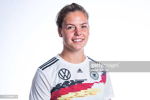 Juliane Wirtz poses on August 27 2019 in Tilburg Netherlands