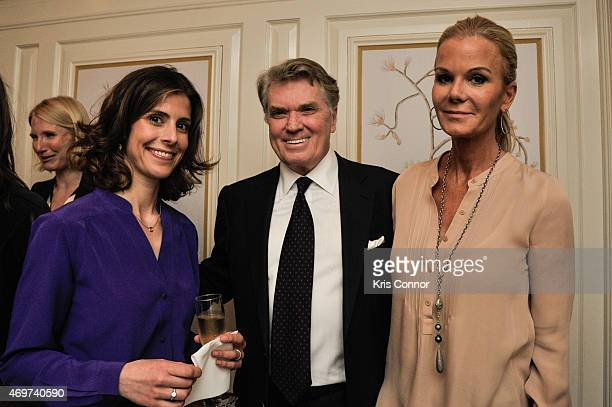 Julianna Goldman Gottlieb Jack Quinn and Susanna Quinn attend a reception to honor Giovanna Gray Lockhart as the new Glamour Washington DC Editor at...