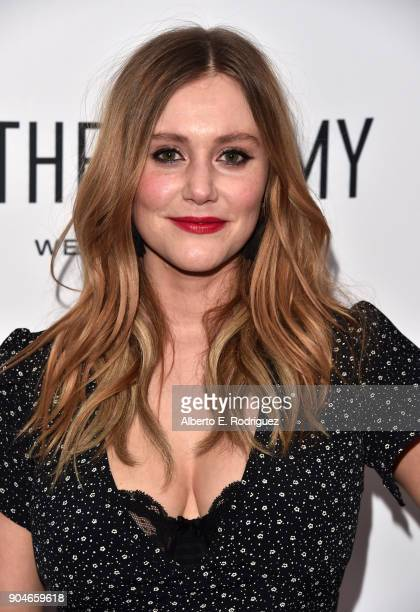 Julianna Guill attends Los Angeles Confidential Celebrates 'Awards Issue' hosted by cover stars Alison Brie Milo Ventimiglia and Ana De Armas at The...