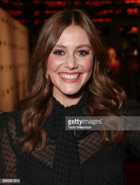 Julianna Guill attends the premiere of Momentum Pictures' 'In Dubious Battle' at ArcLight Hollywood on February 15 2017 in Hollywood California