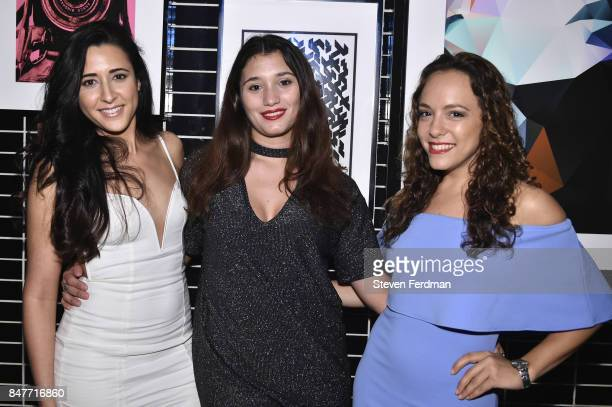 Julianna languido Odiah Greenberg and Camila Taleisnik attend PMA with KANTRR Labs and Pierce Capital Entertainment host the Wrap Party of 'Tu Me...