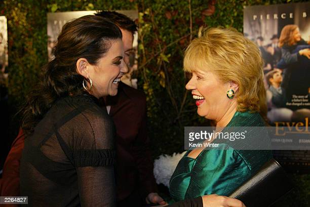 Julianna Margulies and Evelyn Doyle at the premiere of Evelyn at the Academy of Motion Pictures Arts and Sciences in Beverly Hills Ca Tuesday Dec 3...