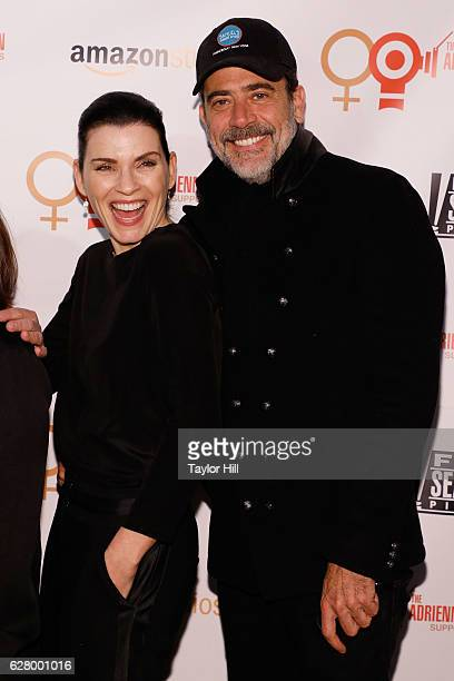 Julianna Margulies and Jeffrey Dean Morgan attend the Adrienne Shelly Foundation 10th Anniversary Gala at The Angel Orensanz Foundation on December 5...