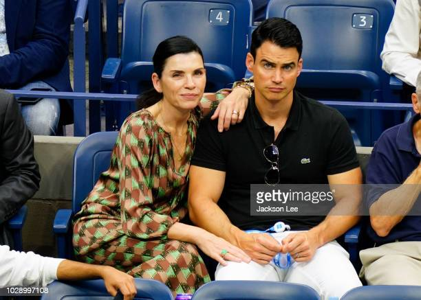 Julianna Margulies and Keith Lieberthal at 2018 US Open on September 6 2018 in New York City