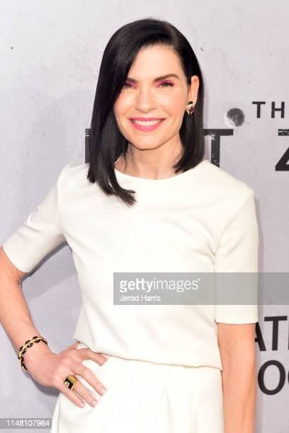 Julianna Margulies arrives at Screening Of National Geographic's 'The Hot Zone' at Samuel Goldwyn Theater on May 09 2019 in Beverly Hills California