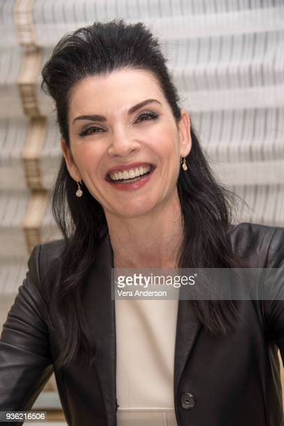 Julianna Margulies at the 'Dietland' Press Conference at the Peninsula Hotel on March 20 2018 in New York City