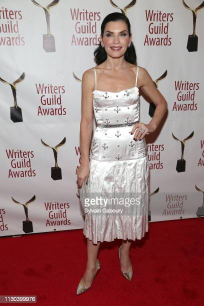 Julianna Margulies attends 71st Annual Writers Guild Awards New York Ceremony at Edison Ballroom on February 17 2019 in New York City