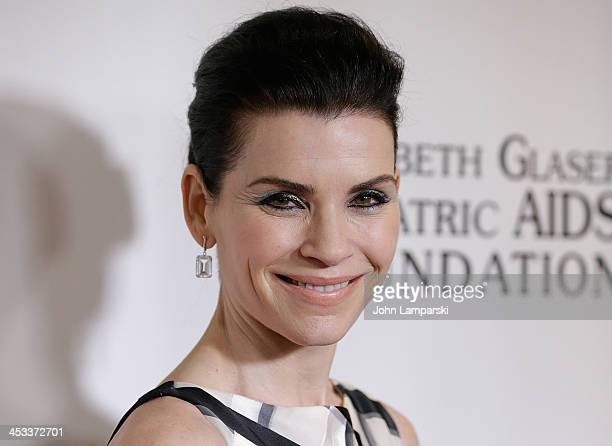 Julianna Margulies attends Elizabeth Glaser Pediatric AIDS Foundation's 25th Anniversary Gala at Best Buy Theater on December 3 2013 in New York City
