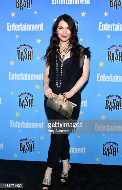 Julianna Margulies attends Entertainment Weekly's ComicCon Bash held at FLOAT Hard Rock Hotel San Diego on July 20 2019 in San Diego California...