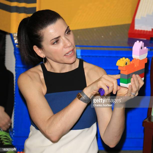 Julianna Margulies attends Read Build Play Story Time Hosted By Lego And Julianna Margulies at Barnes Noble Union Square on February 7 2013 in New...