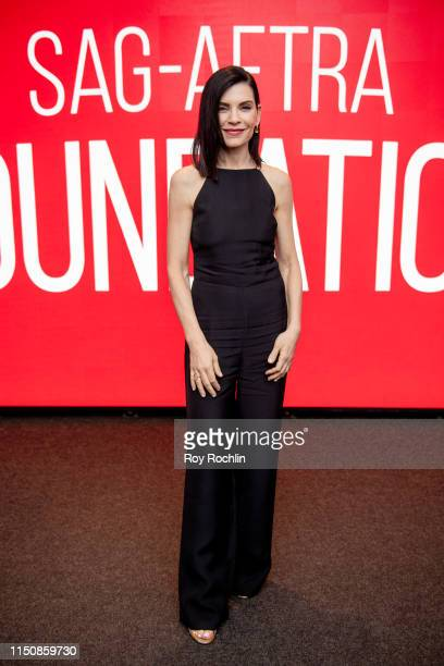 Julianna Margulies attends SAG AFTRA Foundation Conversations The Hot Zone at The Robin Williams Center on May 21 2019 in New York City