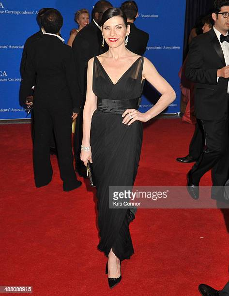 Julianna Margulies attends the 100th Annual White House Correspondents' Association Dinner at the Washington Hilton on May 3 2014 in Washington DC