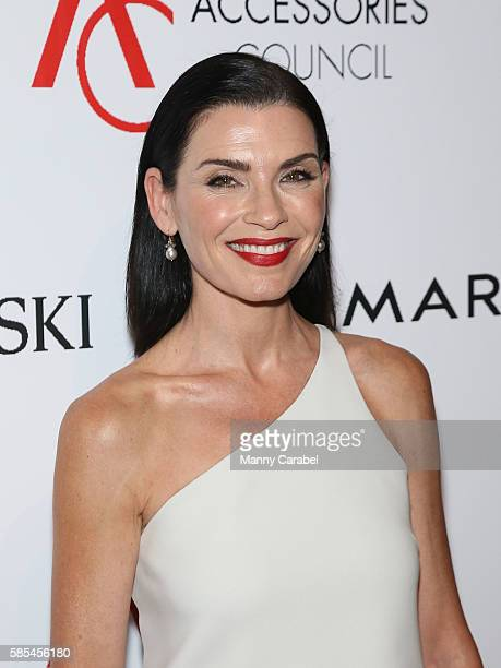 Julianna Margulies attends the 2016 Accessories Council 20th Anniversary ACE Awards at Cipriani 42nd Street on August 2, 2016 in New York City.