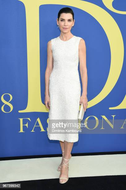 Julianna Margulies attends the 2018 CFDA Fashion Awards at Brooklyn Museum on June 4 2018 in New York City