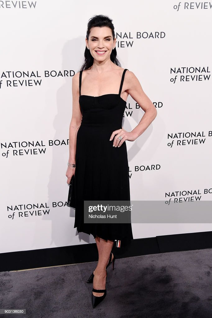 Julianna Margulies attends the 2018 National Board Of Review Awards Gala at Cipriani 42nd Street on January 9, 2018 in New York City.
