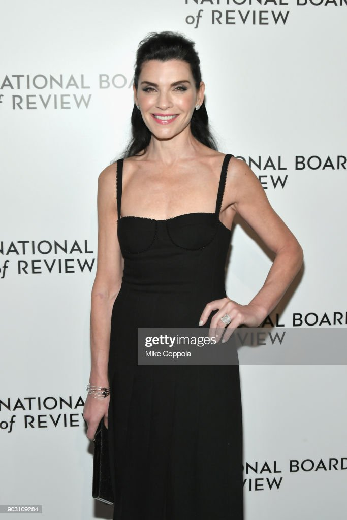 Julianna Margulies attends the 2018 The National Board Of Review Annual Awards Gala at Cipriani 42nd Street on January 9, 2018 in New York City.