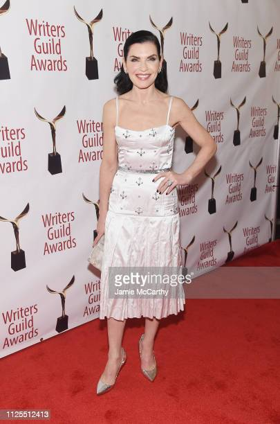 Julianna Margulies attends the 71st Annual Writers Guild Awards New York ceremony at Edison Ballroom on February 17 2019 in New York City