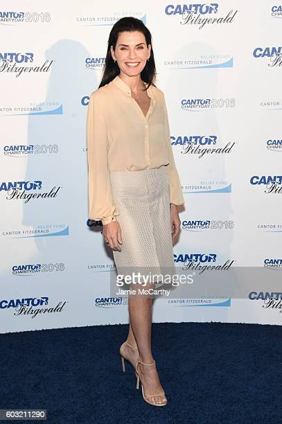 Julianna Margulies attends the Annual Charity Day hosted by Cantor Fitzgerald BGC and GFI at Cantor Fitzgerald on September 12 2016 in New York City