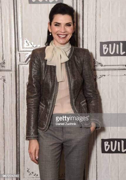 Julianna Margulies attends the Build Series to discuss her AMC show 'Dietland' at Build Studio on June 4 2018 in New York City