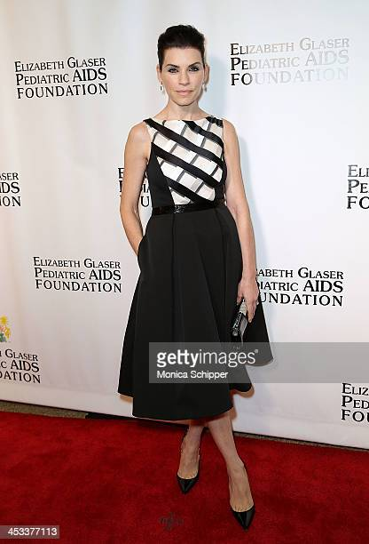 Julianna Margulies attends the Elizabeth Glaser Pediatric AIDS Foundation's 25th Anniversary Gala at Best Buy Theater on December 3 2013 in New York...