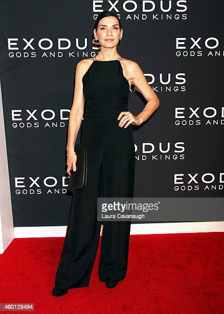Julianna Margulies attends the Exodus Gods And Kings New York Premiere at Brooklyn Museum on December 7 2014 in New York City