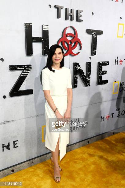 "Julianna Margulies attends the L.A. Premiere of National Geographic's 3-Night Limited Series ""The Hot Zone"", which premieres Monday, May 27, 9/8c, at..."